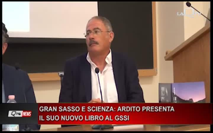 GRAN SASSO E SCIENZE IL TITOLO DEL LIBRO DI STEFANO ARDITO