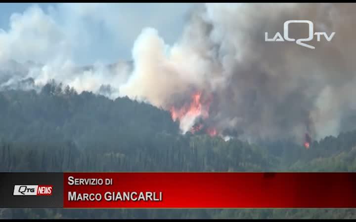 L'Abruzzo delle aree interne continua a bruciare: si riattivano i focolai di Aragno e Preturo