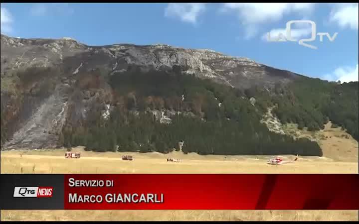 Tragedia sfiorata a Fonte Vetica: cade un elicottero dei VVF in fase di atterraggio