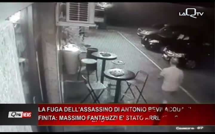 Arrestato l'assassino di Antonio Bevilacqua