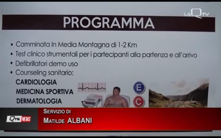 L'AQUILA: RIPARTE LA PREVENZIONE COL PROGETTO CUORE