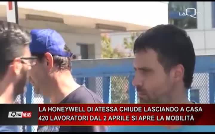 LA HONEYWELL DI ATESSA CHIUDE LASCIANDO A CASA 420 LAVORATORI DAL 2 APRILE SI APRE LA MOBILITÀ