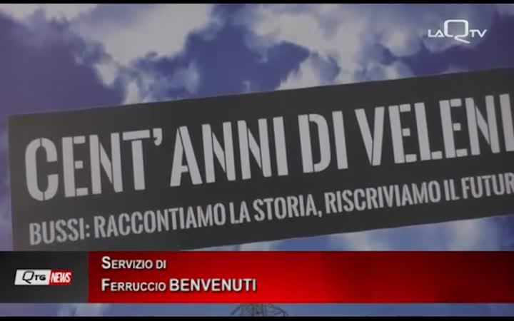 BUSSI. I CENT'ANNI DI VELENI M5S RACCONTA IL POLO CHIMICO