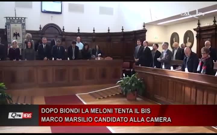 DOPO BIONDI LA MELONI TENTA IL BIS MARCO MARSILIO CANDIDATO ALLA CAMERA