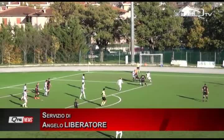 L'Aquila Calcio spaventa la capolista ma alla fine non riesce a raccogliere punti