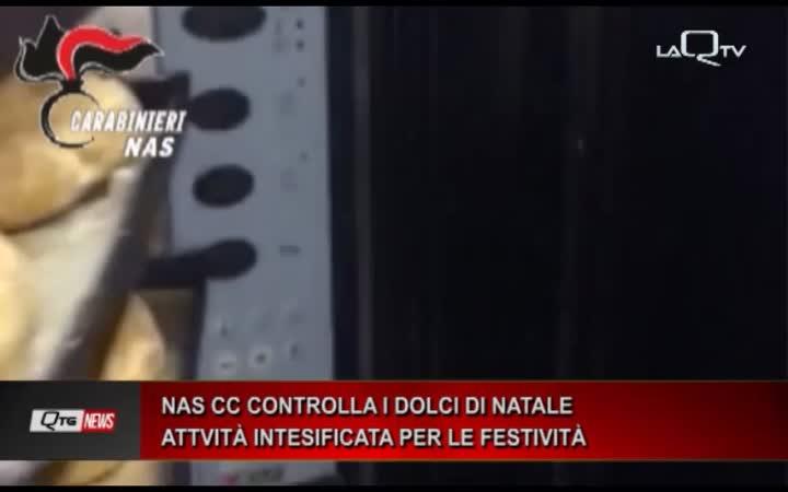 NAS CC CONTROLLA I DOLCI DI NATALE ATTVITÀ INTESIFICATA PER LE FESTIVITÀ