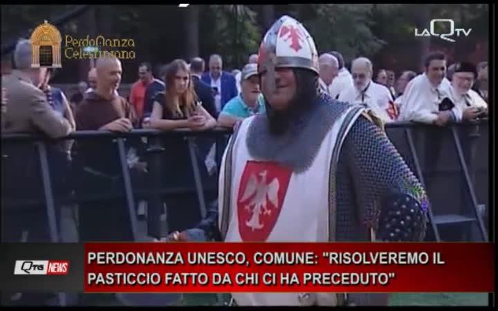 CANDIDATURA PERDONANZA UNESCO IL COMUNE:
