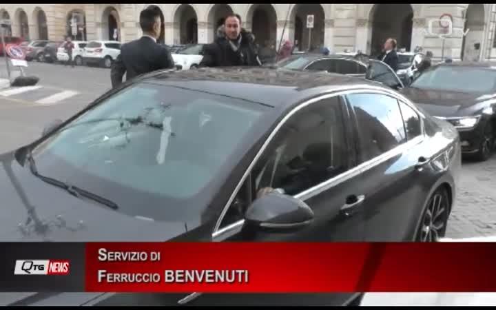 ORLANDO INAUGURA IL TRIBUNALE DI CHIETI INTERVENTO DEL MINISTRO DELLA GIUSTIZIA