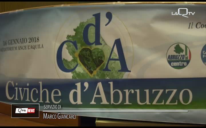 IL COORDINAMENTO DEI DIPARTIMENTI DI NCS ASCOLTA LE CIVICHE D'ABRUZZO
