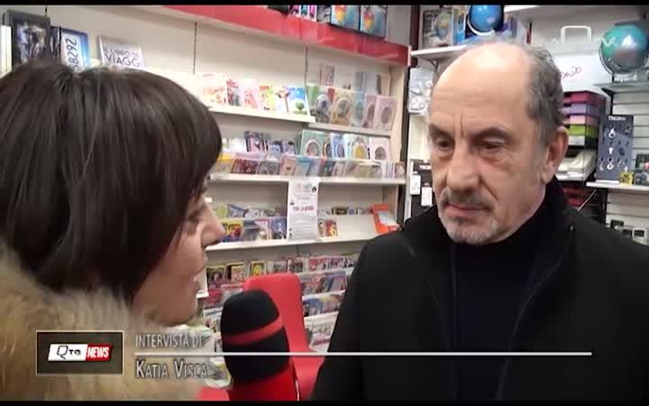 PINO ROVEREDO ALLA LIBRERIA MACCARRONE