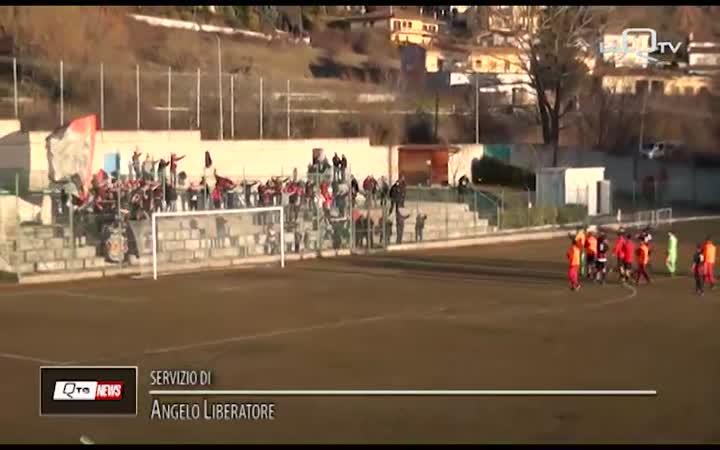 L'Aquila Calcio, tris servito sul campo dei Nerostellati Pratola