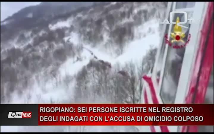 Rigopiano: la Procura di Pescara iscrive nel registro degli indagati 6 persone