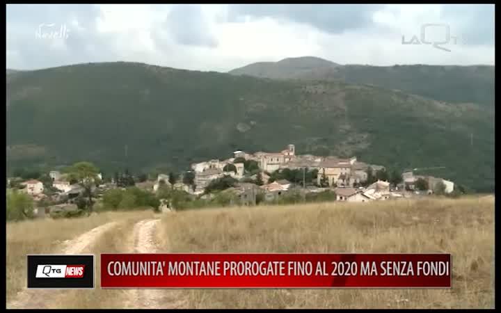 PROROGA AL 2020 PER COMUNITA MONTANE SENZA SOLDI