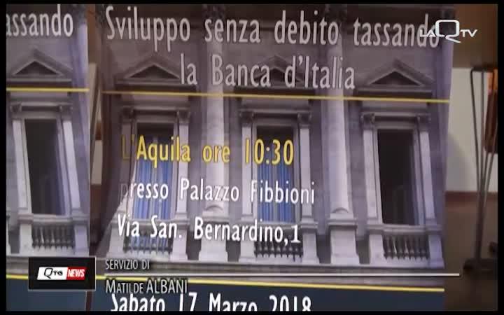 BLUNDO: BOCCIATE TASSE EMISSIONI BANCA D'ITALIA