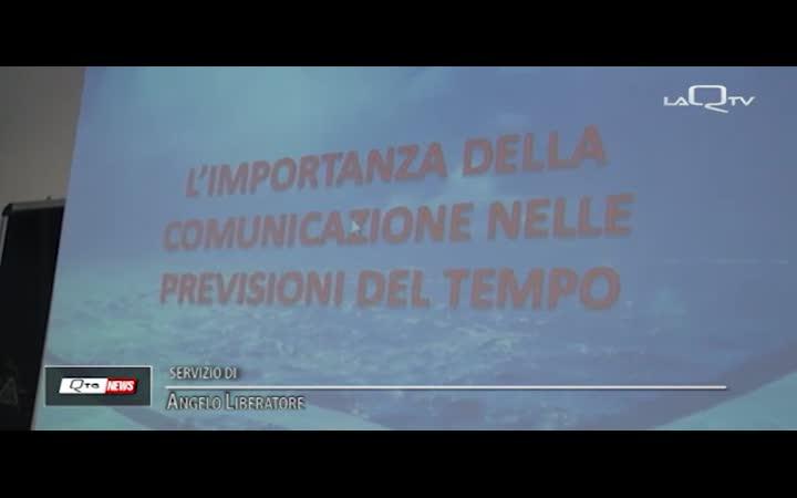 METEO E COMUNICAZIONE: ANDREA GIULIACCI A L'AQUILA