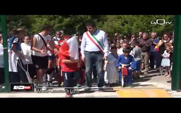 TORNIMPARTE, NUOVO CAMPO E FESTA DI SPORT