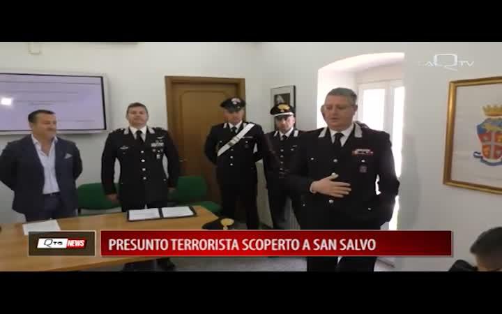 PRESUNTO TERRORISTA SCOPERTO A SAN SALVO