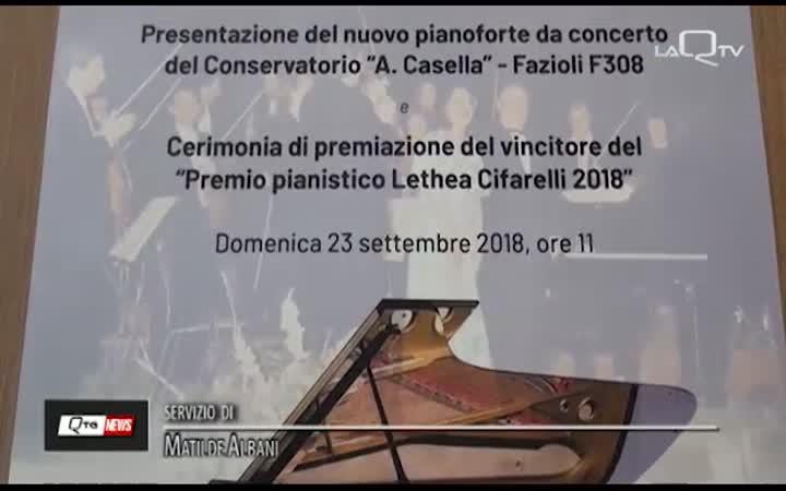 UN NUOVO PIANOFORTE  PER IL CONSERVATORIO CASELLA