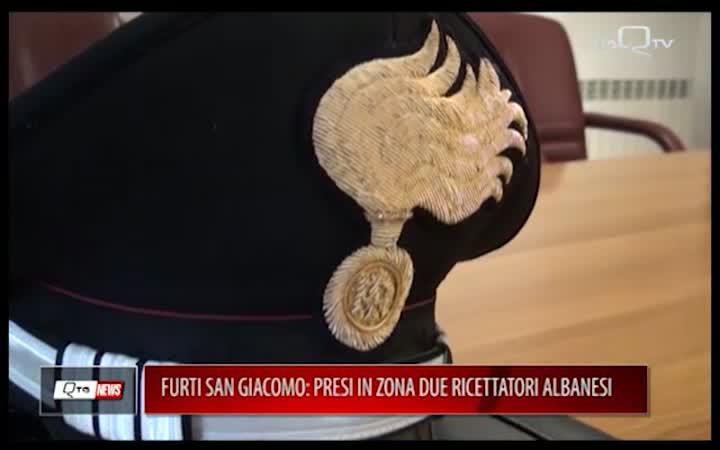 AQ, FURTI SAN GIACOMO PRESI IN ZONA DUE RICETTATORI