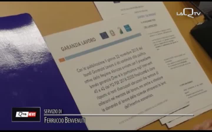 GARANZIA LAVORO. 12 MLN PER NUOVE ASSUNZIONI