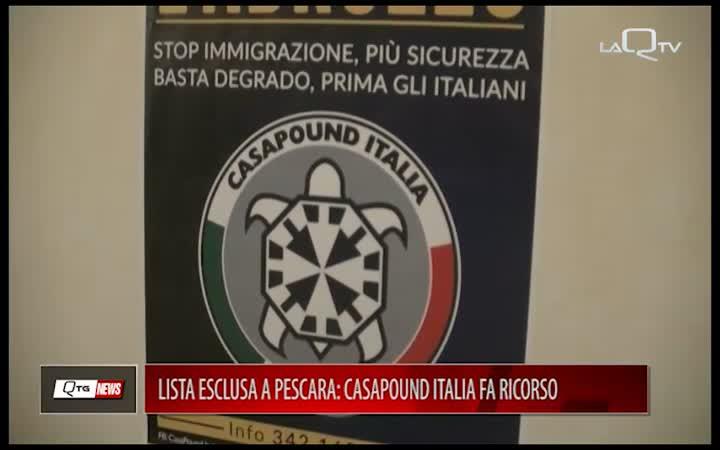 Lista esclusa a Pescara: CasaPound Italia fa ricorso