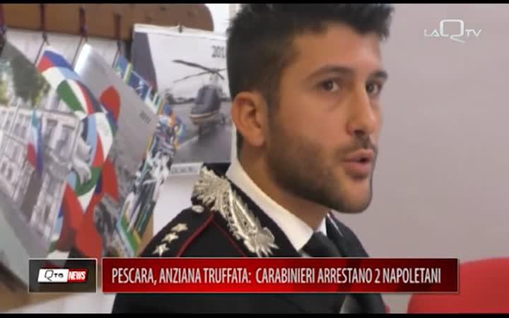 ANZIANA TRUFFATA. CC ARRESTANO 2 NAPOLETANI