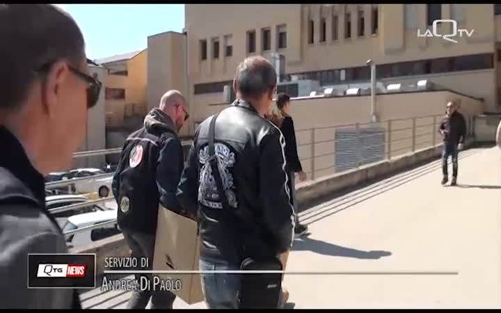MOTOCLUB VVF AQ, UOVA DI PASQUA PER PEDIATRIA
