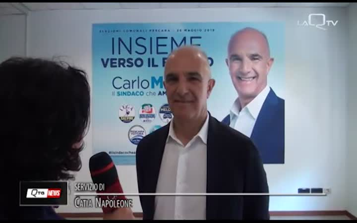 PESCARA: CARLO MASCI INAUGURA LA SEDE ELETTORALE