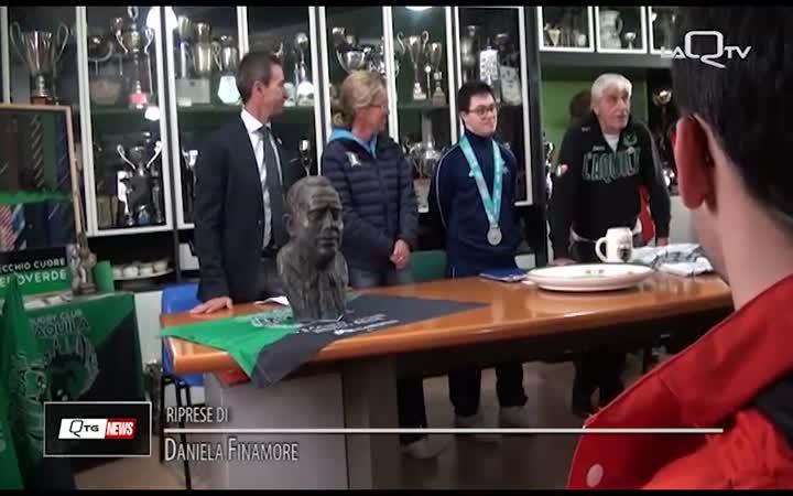 L'AQUILA, IL MUSEO DEL RUGBY FESTEGGIA PAOLO AQUILIO