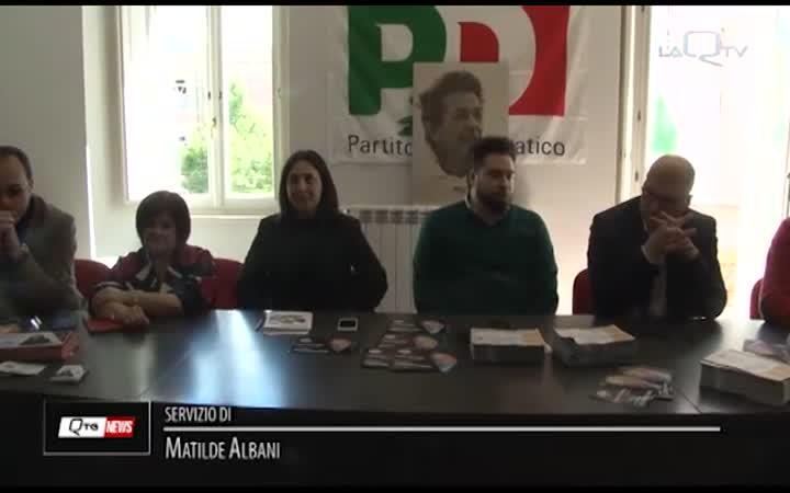 L'AQUILA, PD : PRESENTATI I CANDIDATI COZZOLINO E KECHOUD