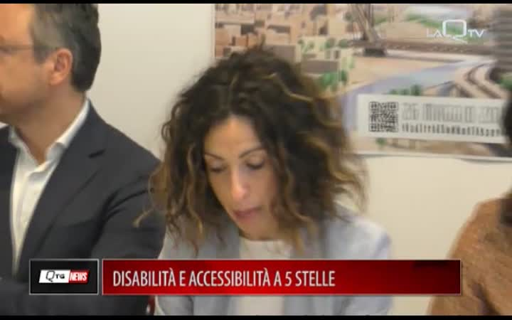 PESCARA, DISABILITÀ E ACCESSIBILITÀ A 5 STELLE