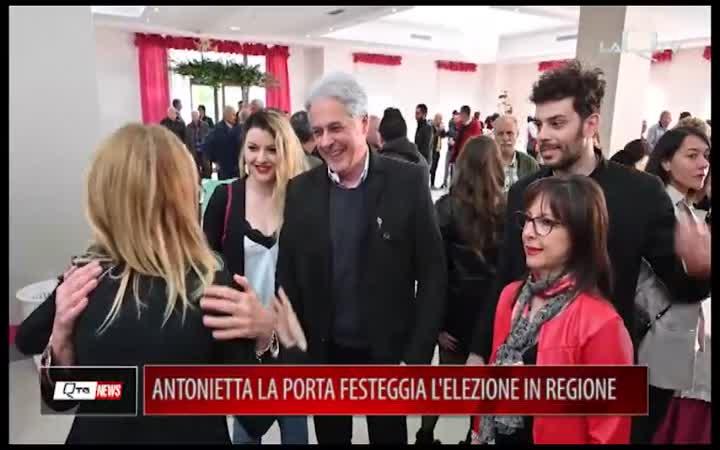 LA PORTA FESTEGGIA L'ELEZIONE IN REGIONE