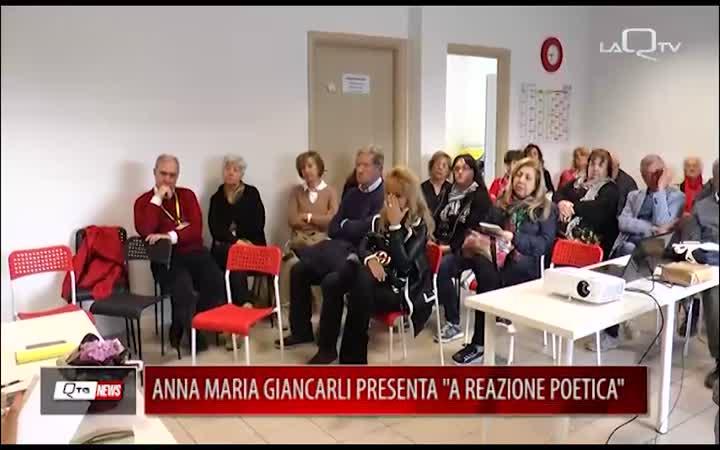ANNA MARIA GIANCARLI PRESENTA