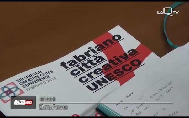 FORUM UNESCO: L'AQUILA PROTAGONISTA A FABRIANO