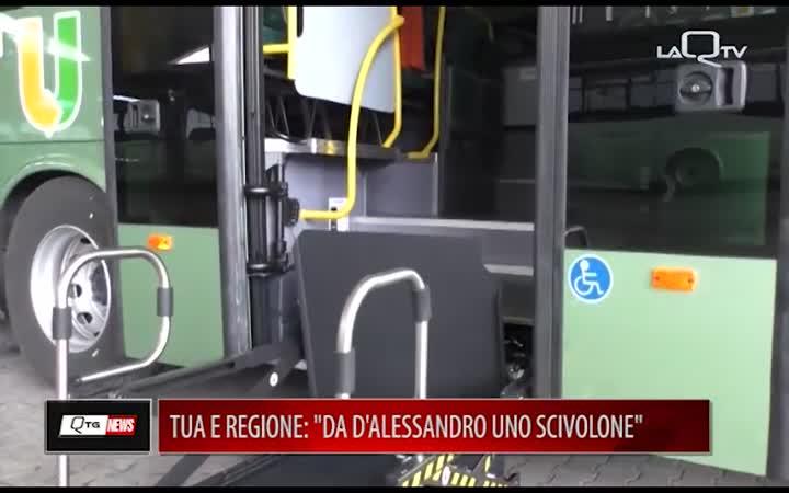 TUA E REGIONE: DA D'ALESSANDRO UNO SCIVOLONE