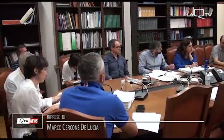 AQ, DUP E BILANCIO DI PREVISIONE: SE NE DISCUTE IN V COMMISSIONE