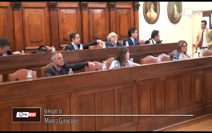 COMUNE AQ: COMMISSIONE PER FONDI 4% E PATRIMONIO IMMOBILIARe