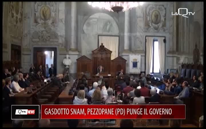 GASDOTTO SNAM, PEZZOPANE (PD) PUNGE IL GOVERNO