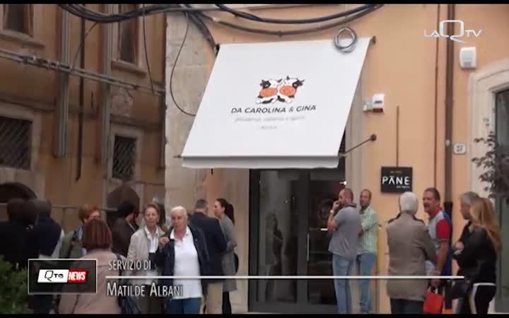 """L'AQUILA: APRE  """"CAROLINA E GINA"""",  GELATERIA E LATTERIA A KM 0"""