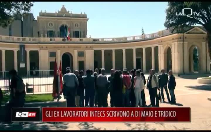 LAVORATORI EX INTECS SCRIVONO A DI MAIO E TRIDICO
