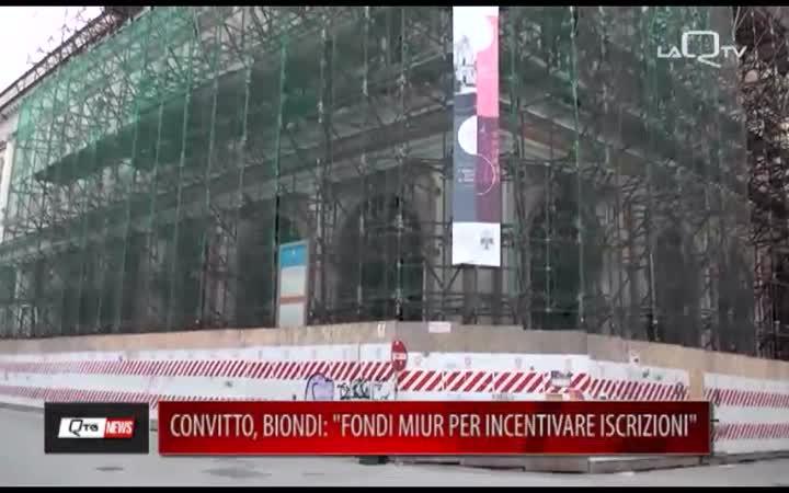CONVITTO COTUGNO, BIONDI: