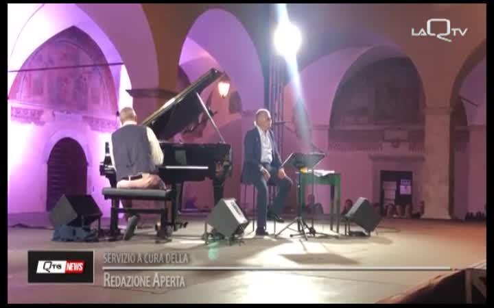 FESTIVAL TAGLIACOZZO: GINO PAOLI E DANILO REA INCANTANO