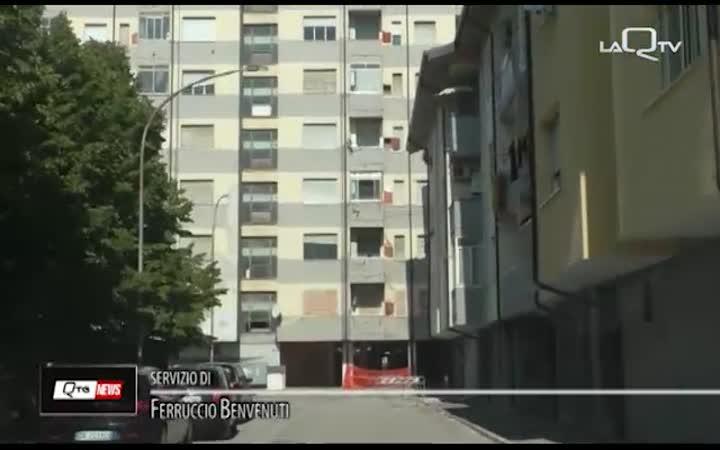 PESCARA: VIA LAGO DI BORGIANO. RISCHIO CROLLO.. INTATTO