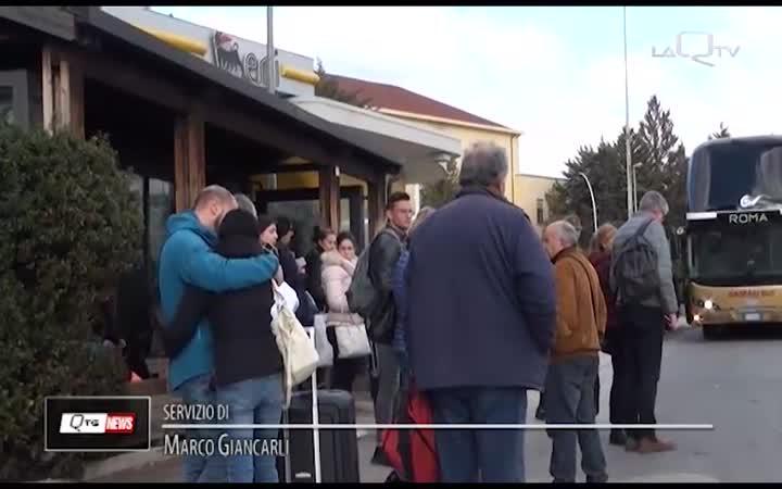 MENO DI UN ANNO PER L'ANELLO DI L'AQUILA OVEST