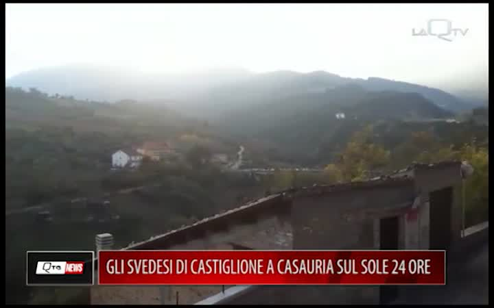 GLI SVEDESI DI CASTIGLIONE A CASAURIA SUL SOLE 24 ORE