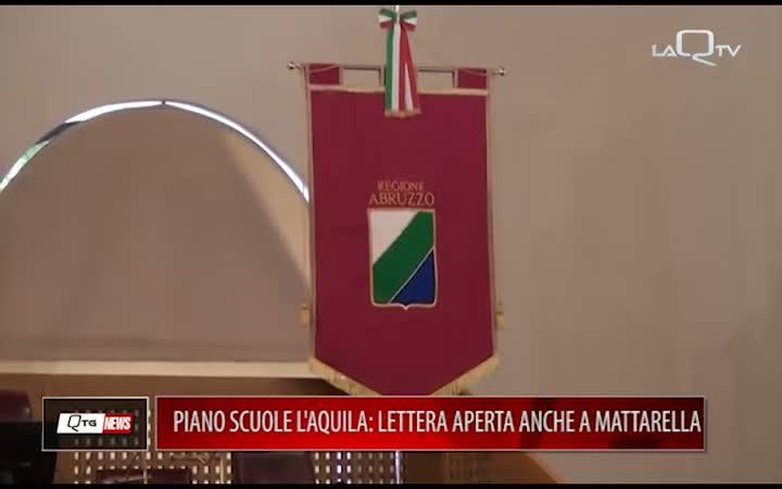 L'AQUILA, DIMENSIONAMENTO SCOLASTICO: LETTERA APERTA ANCHE A SERGIO MATTARELLA