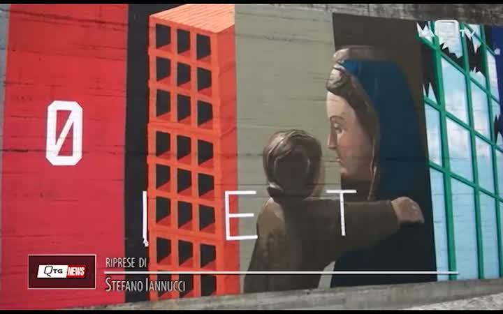 LA STREET ART CONQUISTA L'UNIVERSITÀ DELL'AQUILA