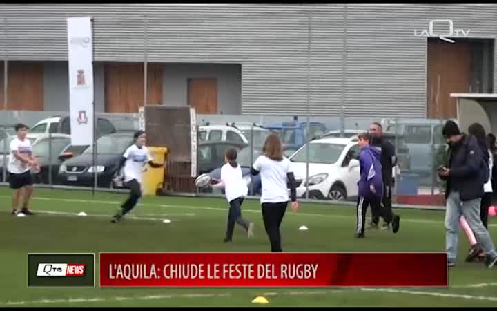L'AQUILA CHIUDE LE FESTE DEL RUGBY