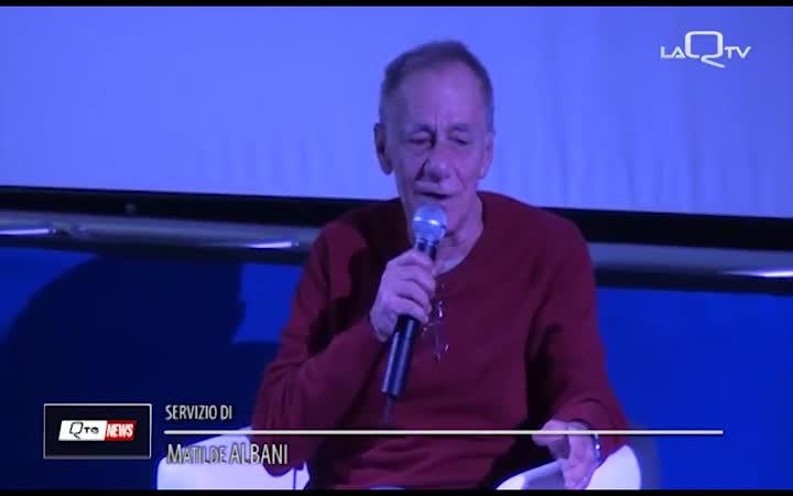VECCHIONI A L' AQUILA PER RACCONTARE LA FELICITA'
