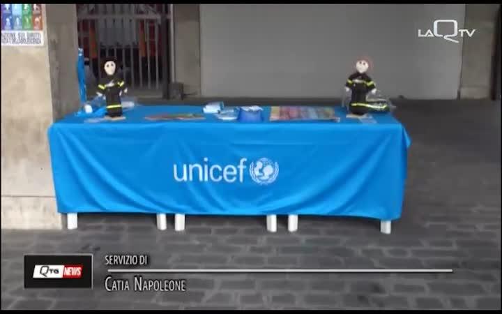 VVFF E UNICEF PER I DIRITTI DELL'INFANZIA
